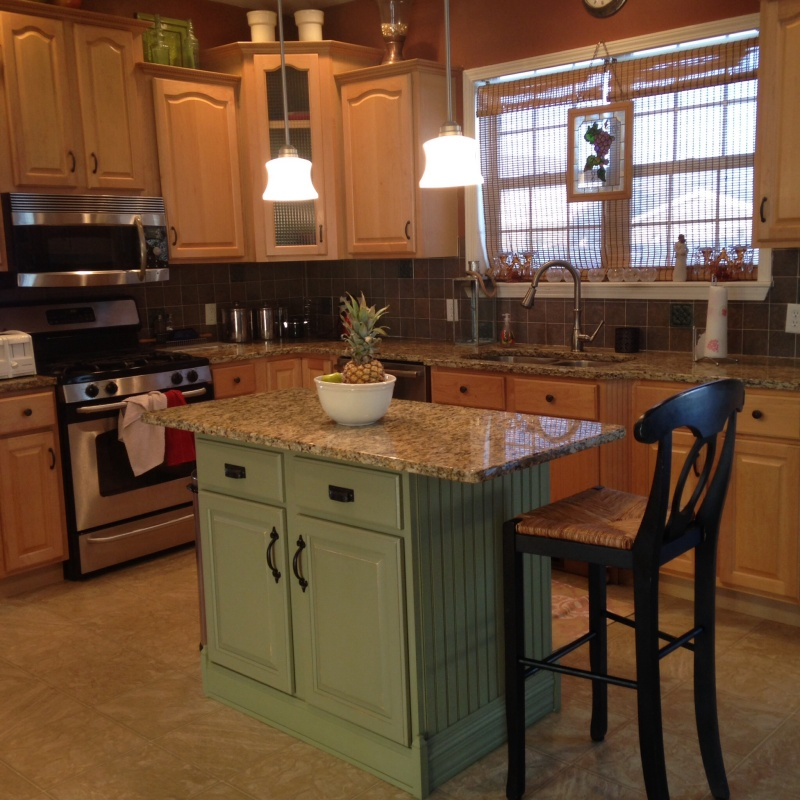 My kitchen island oasis by my own design for Design my own kitchen